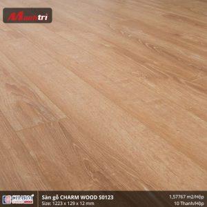 Sàn gỗ công nghiệp Charm Wood S0123 hình 2