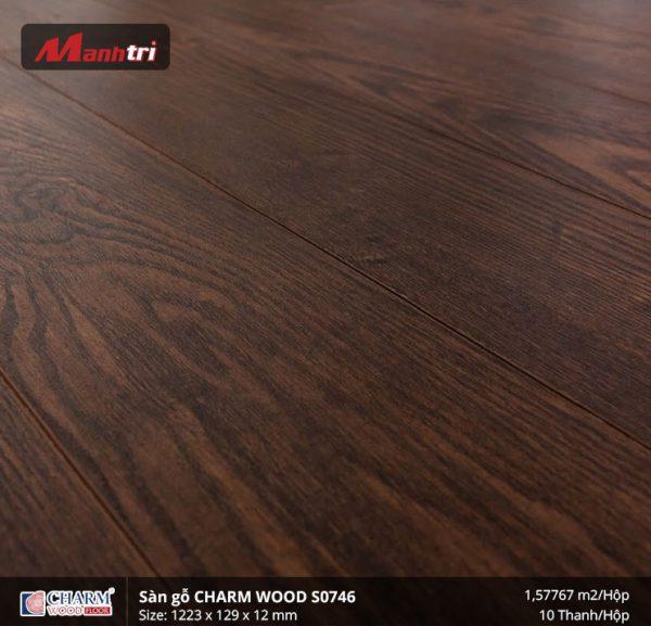 Sàn gỗ công nghiệp Charm Wood S0746 hình 2