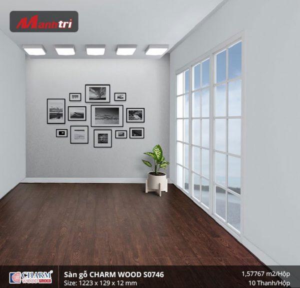 Sàn gỗ công nghiệp Charm Wood S0746 hình 3