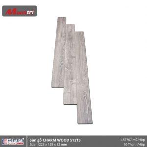 Sàn gỗ công nghiệp Charm Wood S1215 hình 1