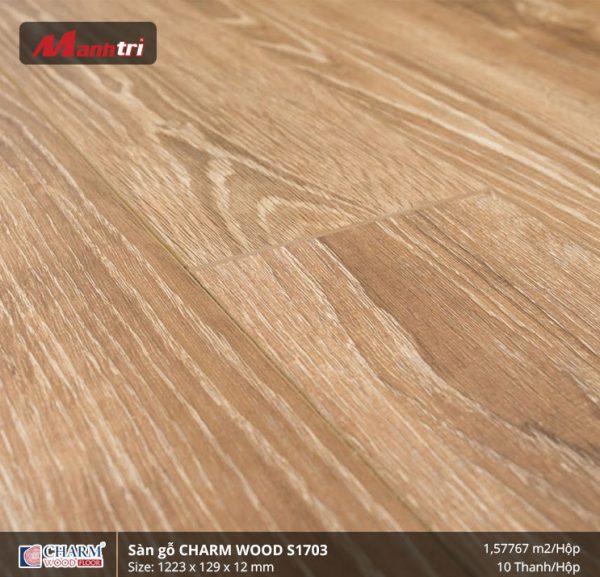 Sàn gỗ công nghiệp Charm Wood S1703 hình 2