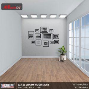 Sàn gỗ công nghiệp Charm Wood S1703 hình 3