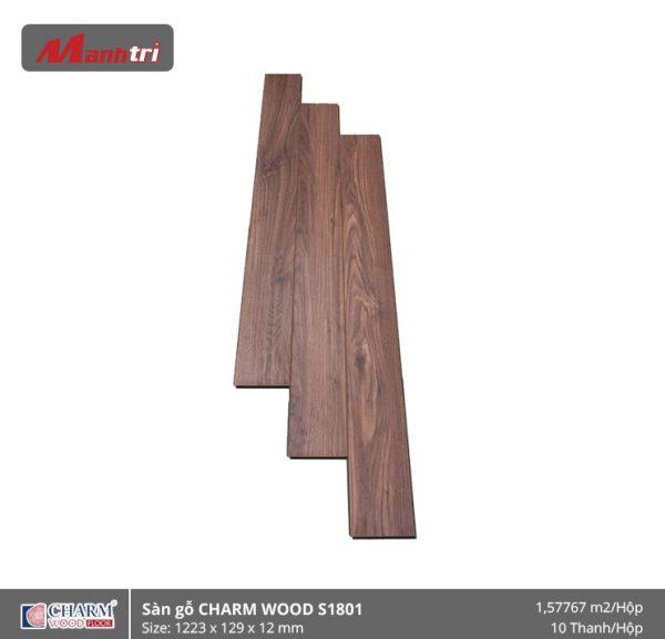 Sàn gỗ công nghiệp Charm Wood S1801 hình 1