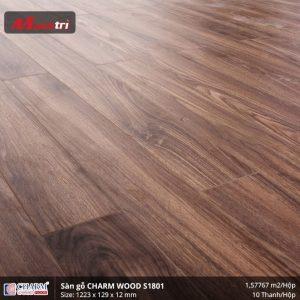 Sàn gỗ công nghiệp Charm Wood S1801 hình 2