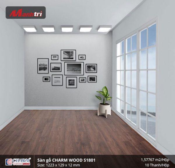 Sàn gỗ công nghiệp Charm Wood S1801 hình 3