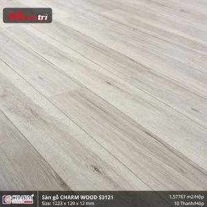 Sàn gỗ công nghiệp Charm Wood S3121 hình 2
