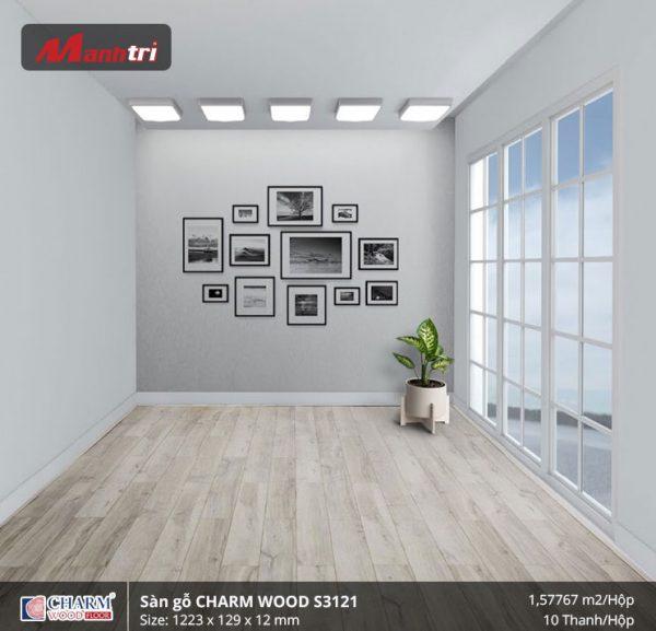 Sàn gỗ công nghiệp Charm Wood S3121 hình 3