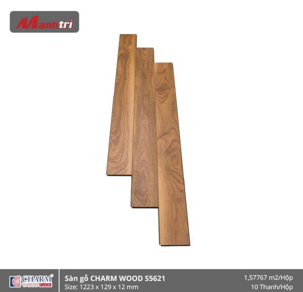 Sàn gỗ công nghiệp Charm Wood S5621 hình 1