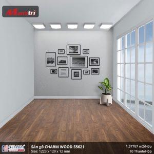 Sàn gỗ công nghiệp Charm Wood S5621 hình 3