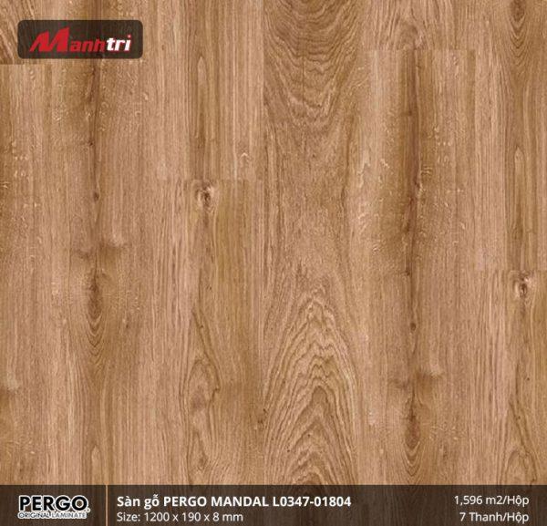 sàn gỗ Pergo Mandal 01804