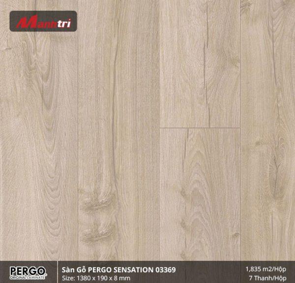sàn gỗ pergo Sensation 03369 hình 1