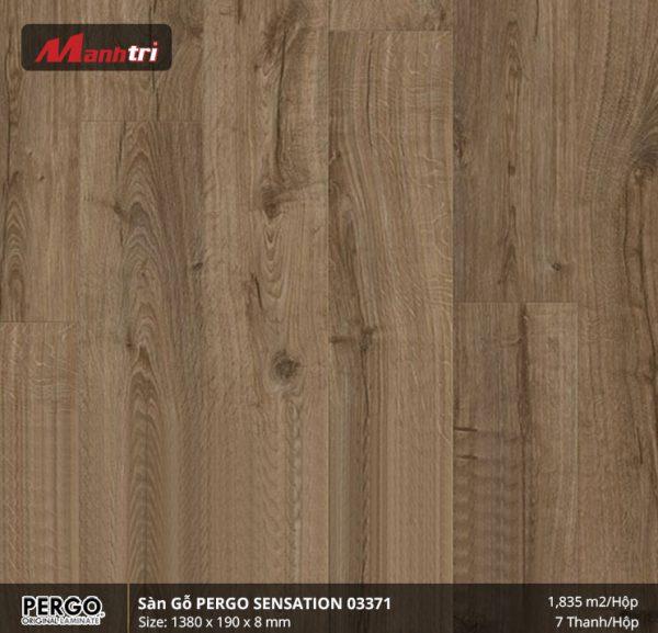 sàn gỗ pergo Sensation 03371 hình 1