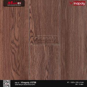 sàn nhựa vinapoly v3758