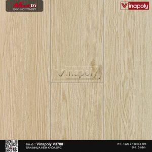 sàn nhựa vinapoly v3788
