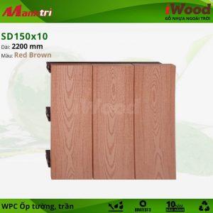 iWood SD 150 x 10 RedBrown