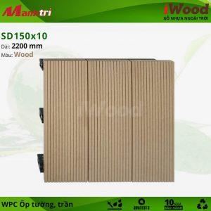 SD 150 x 10 Wood mẫu C