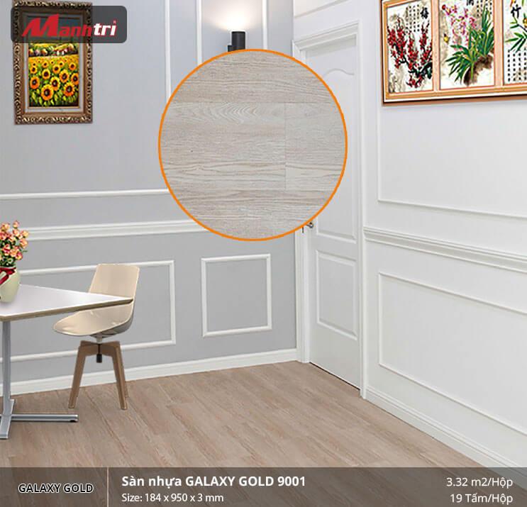 sàn nhựa Galaxy Gold 9001