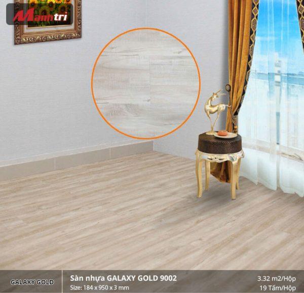 sàn nhựa Galaxy Gold 9002