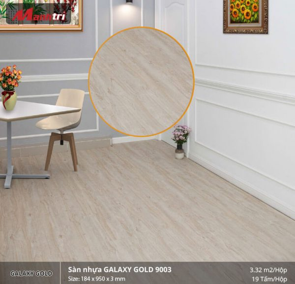 sàn nhựa Galaxy Gold 9003