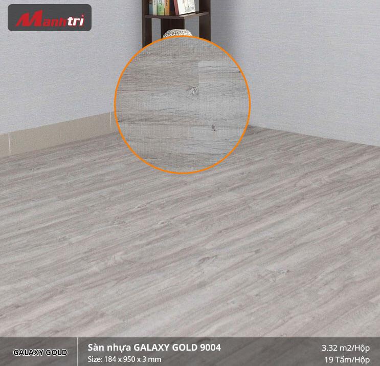 sàn nhựa Galaxy Gold 9004