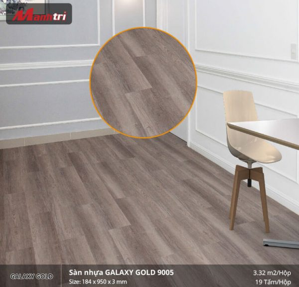 sàn nhựa Galaxy Gold 9005
