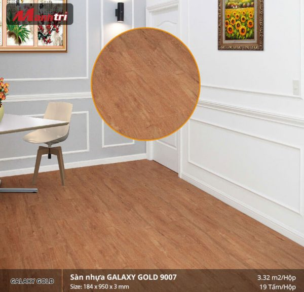sàn nhựa Galaxy Gold 9007