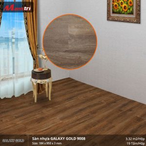 sàn nhựa Galaxy Gold 9008
