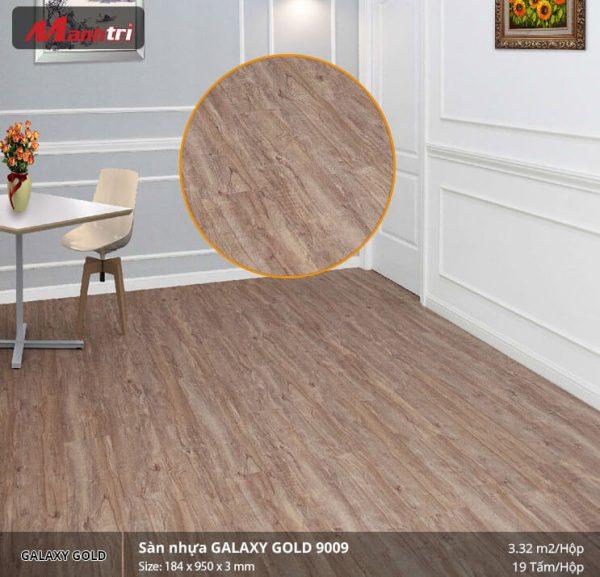 sàn nhựa Galaxy Gold 9009