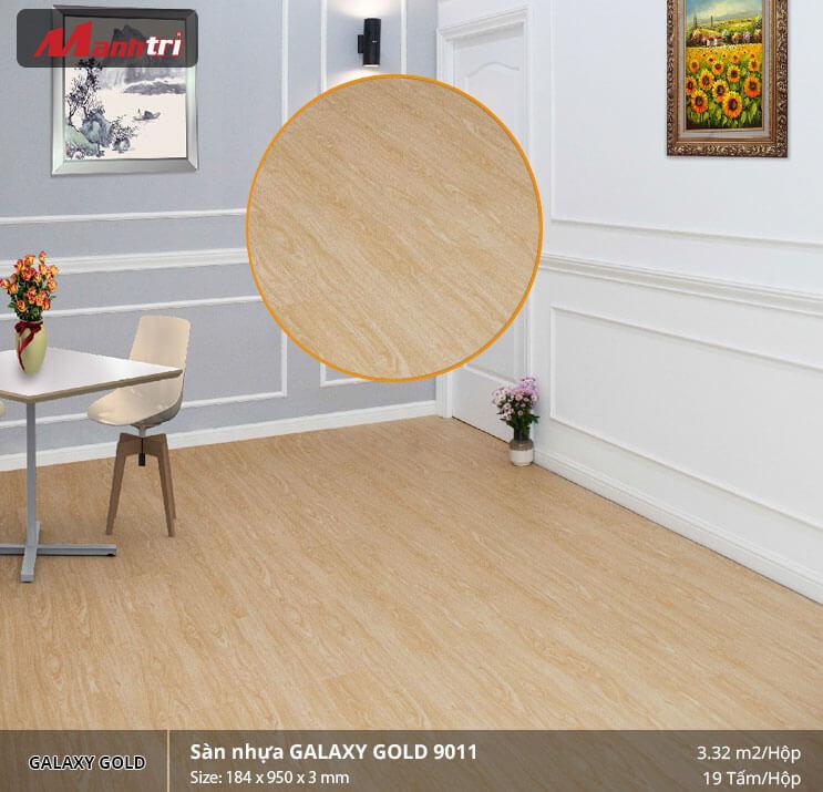 sàn nhựa Galaxy Gold 9011