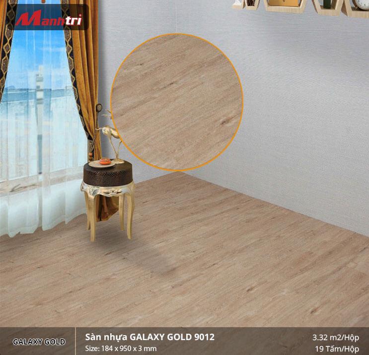 sàn nhựa Galaxy Gold 9012