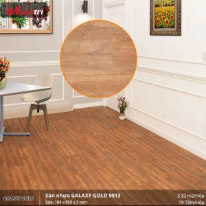sàn nhựa Galaxy Gold 9013