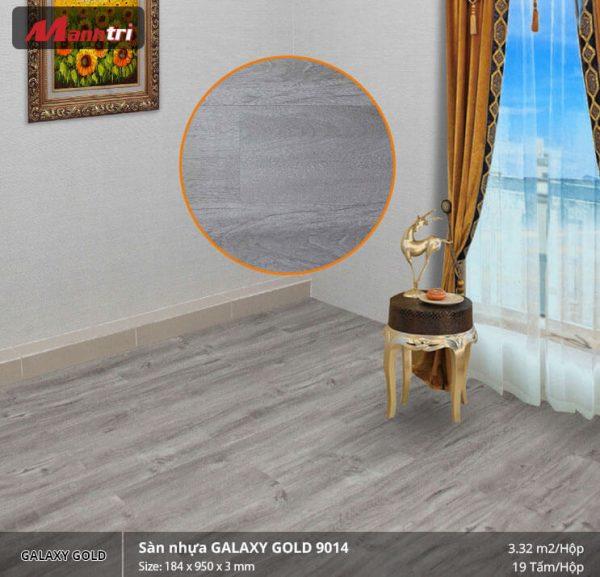 sàn nhựa Galaxy Gold 9014