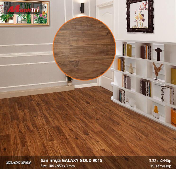 sàn nhựa Galaxy Gold 9015