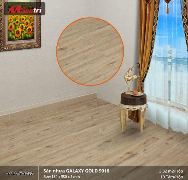 sàn nhựa Galaxy Gold 9016