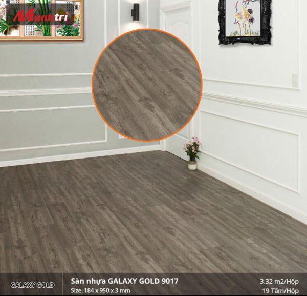 sàn gỗ Galaxy Gold 9017