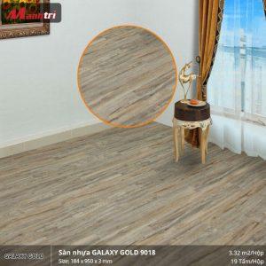 sàn nhựa Galaxy Gold 9018