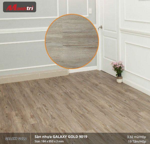 sàn nhựa Galaxy Gold 9019