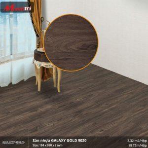 sàn nhựa Galaxy Gold 9020
