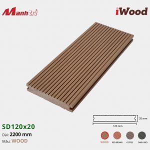 lót sàn iWood SD120x20 Wood hình 1