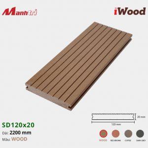 lót sàn iWood SD120x20 Wood hình 2