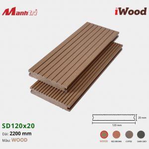 lót sàn iWood SD120x20 Wood hình 3