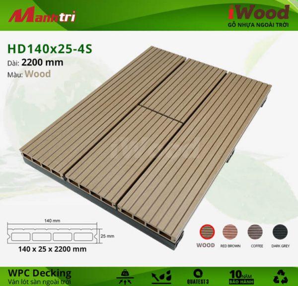 iWood HD 140 x 25 Wood