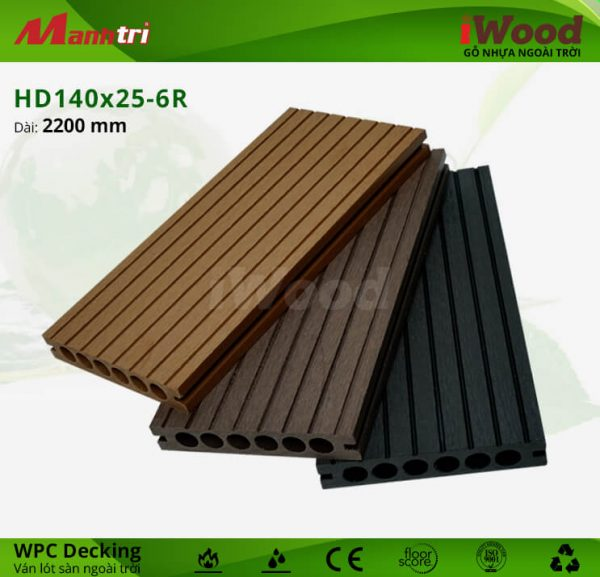 lót sàn iWood HD140x25-6R