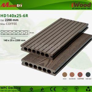 lót sàn iWood HD140x25-6R-Coffee-hình 2