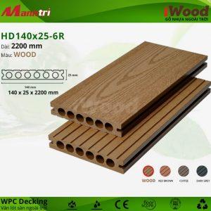 lót sàn iWood HD140x25-6R-wood hình 2