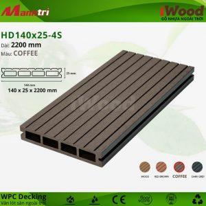 lót sàn iwood HD140x25-coffee hình 1