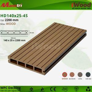 lót sàn iwood HD140x25-wood hình 1