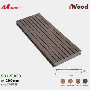 iWood SD120x20 Coffee hình 2