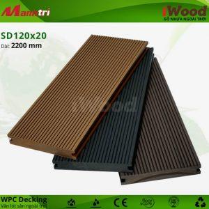 lót sàn iWood SD120x20 hình 1