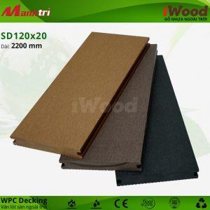 lót sàn iWood SD120x20 hình 2